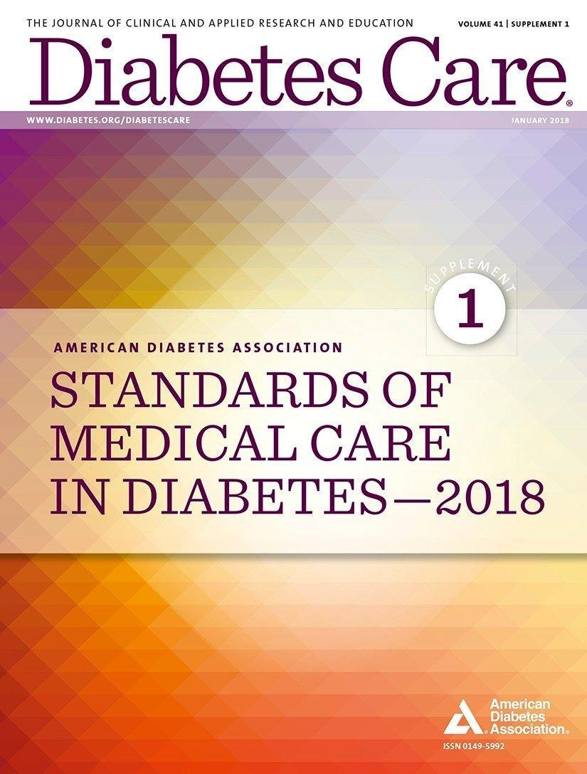 Standards Of Medical Care In Diabetes 2018