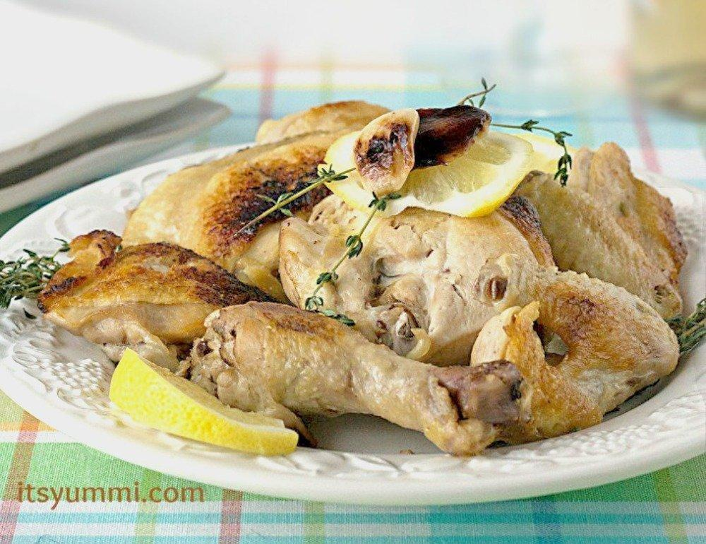 Heart Healthy Roasted Garlic Chicken Recipe