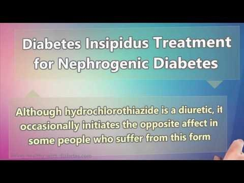 Central Diabetes Insipidus Treatment