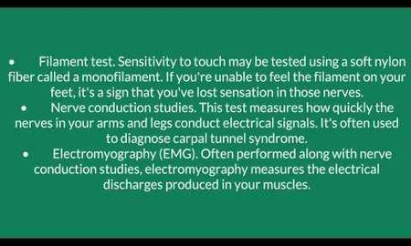 How Do You Test For Diabetic Neuropathy?