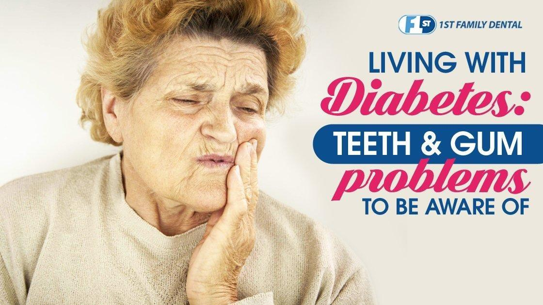 Living With Diabetes: Teeth and Gum Problems to be Aware of