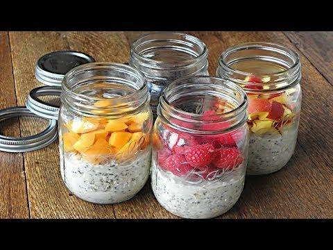 Diabetic Overnight Oatmeal