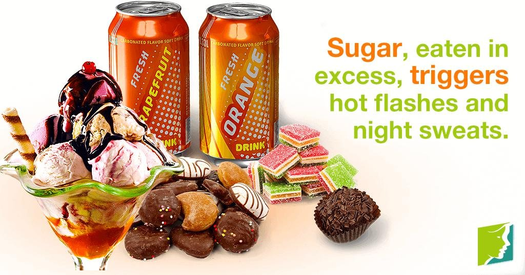 Tips About Sugar, Hot Flashes, And Night Sweats